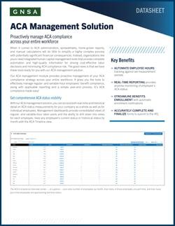 ACA Management Solution-cover