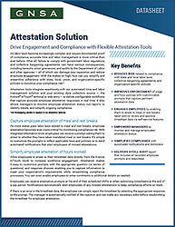 Oregon Attestation Solution Datasheet Overview