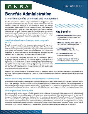 Oregon Employee Benefits Administration Solution Overivew