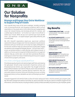 Our Solution for Nonprofits