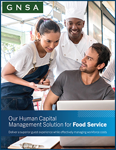 Oregon Food Service HCM Solution Cover