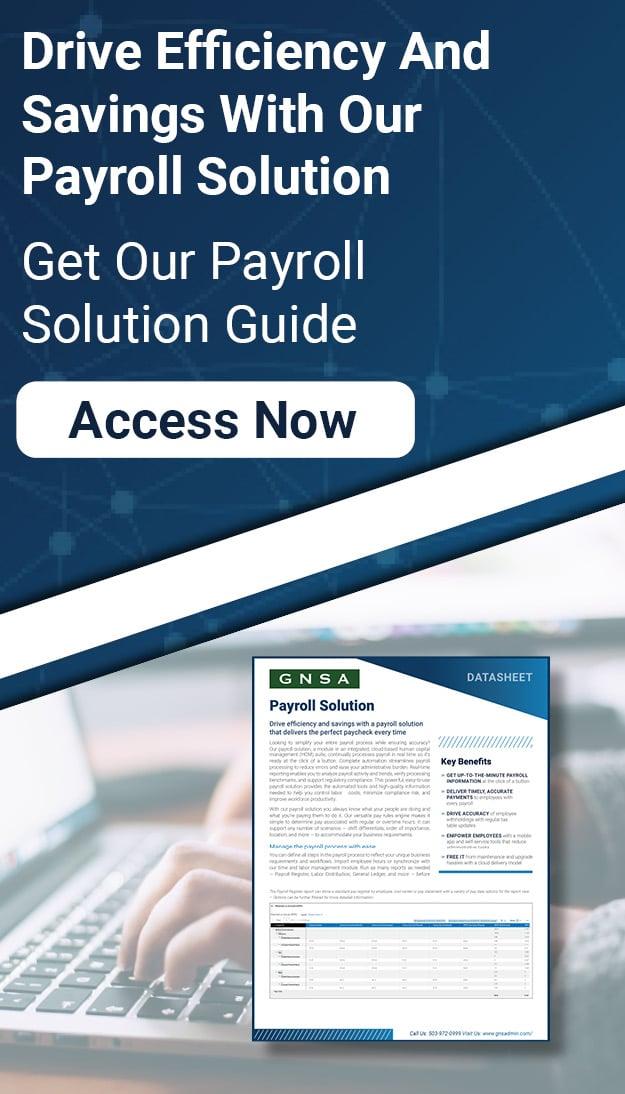 Payroll Solution Guide CTA Vertical